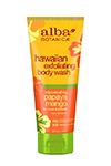 Alba Botanica Natural Hawaiian Rejuvenating Papaya Mango Exfoliating Body Wash - Alba Botanica гель-эксфолиант омолаживающий для душа